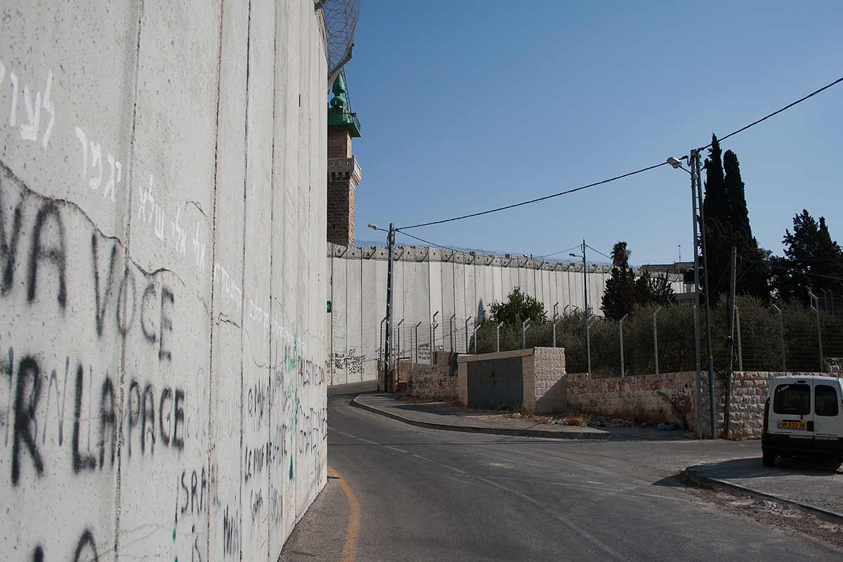 Separation Fence in Jerusalem