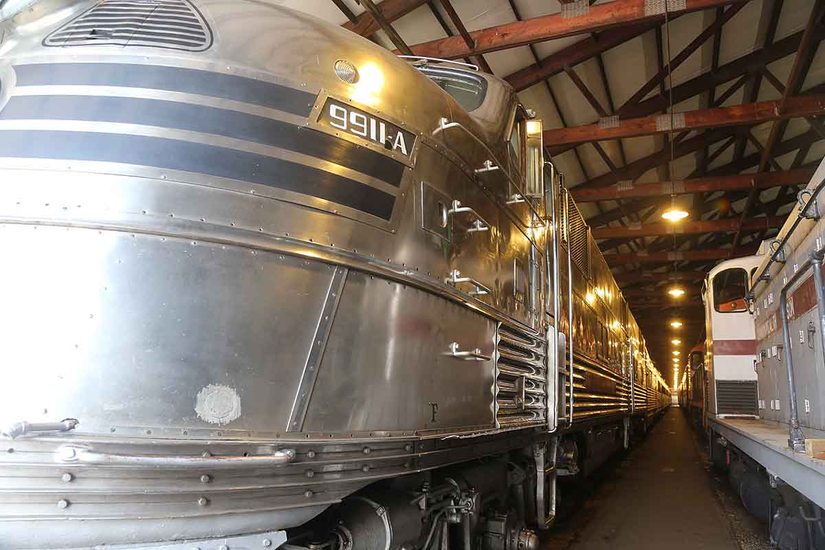 Illinois Railway Museum, the Nebraska Zephyr