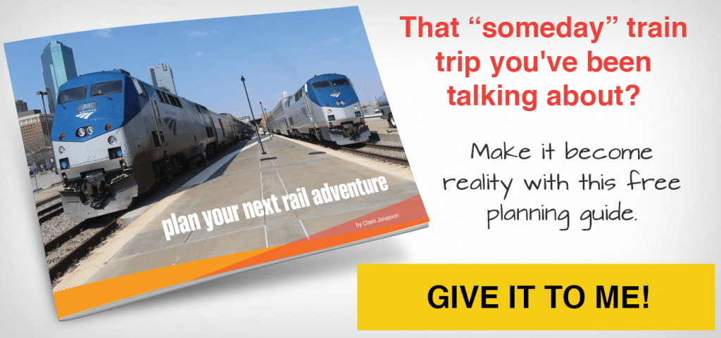 "That ""someday"" train trip you've been talking about? Make it become reality with this free guide - click here"