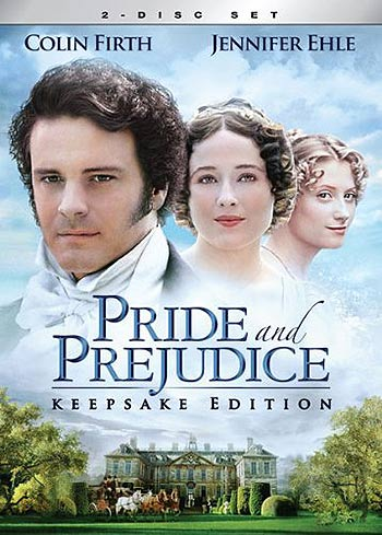 Pride and Prejudice 1999 TV miniseries cover