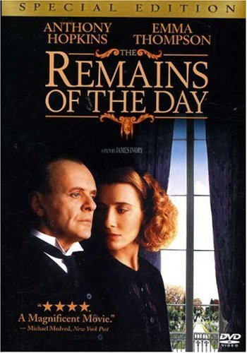 The Remains of the Day DVD cover