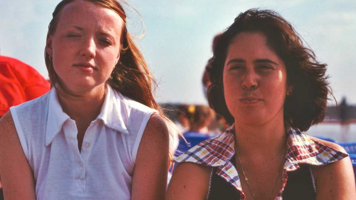 Debbie and Adis in Berlin 1975