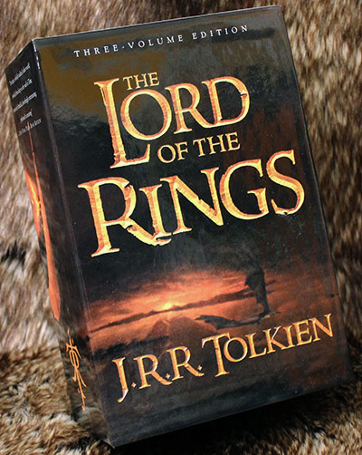 The Lord of the Rings trilogy book set