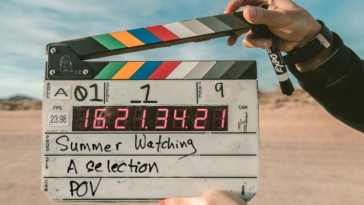 "Camera slate - ""summer watching"""