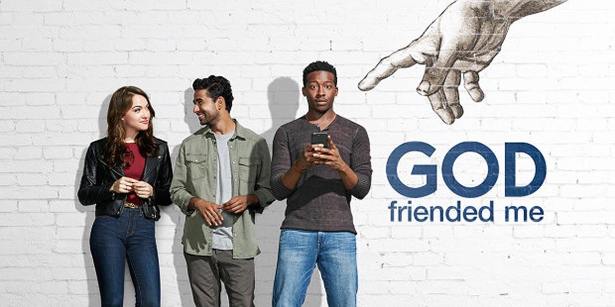 """Poster for """"God Friended Me"""""""
