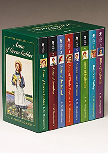Boxed set of Anne of Green Gables books