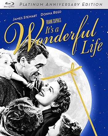 "Cover of Blu-ray Disc for ""It's a Wonderful Life"""