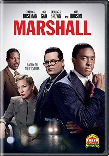 "DVD cover for ""Marshall"""