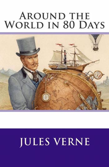 Around the World in 80 Days book cover