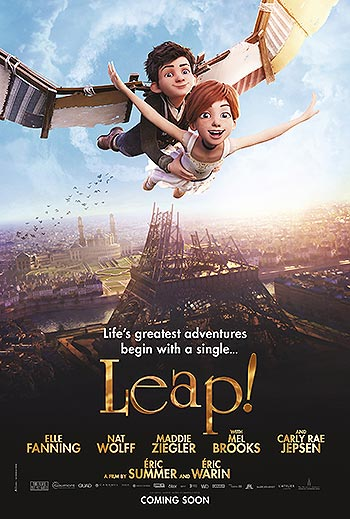Movie poster for Leap!