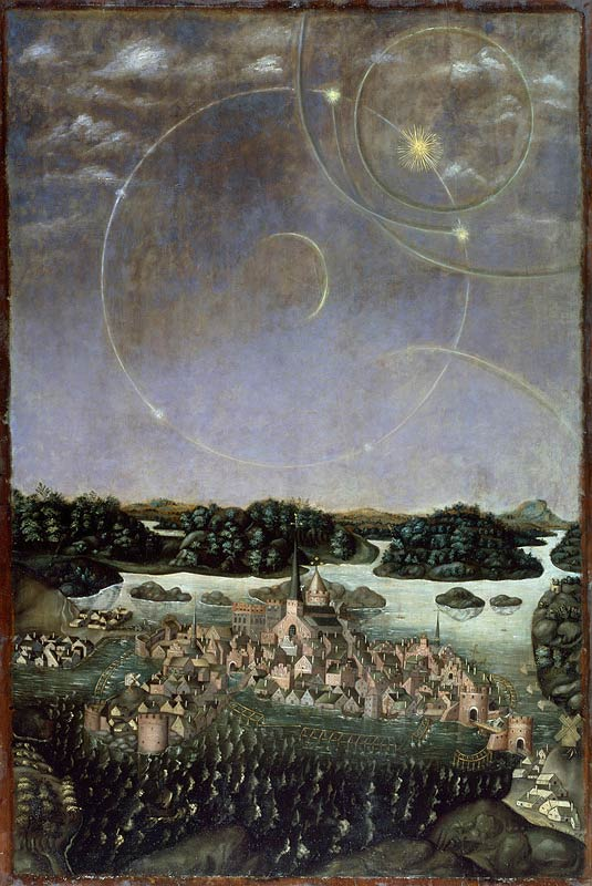 vädersolstavlan, a picture of Stockholm in 1535