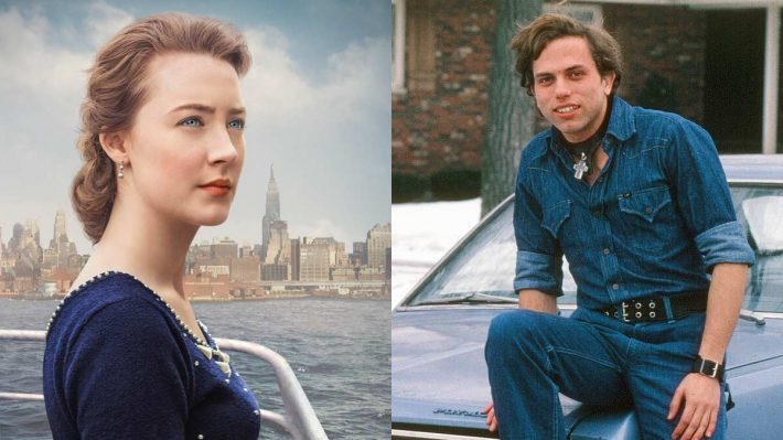 "Saoirse Ronan in ""Brooklyn"" and Claes in college"