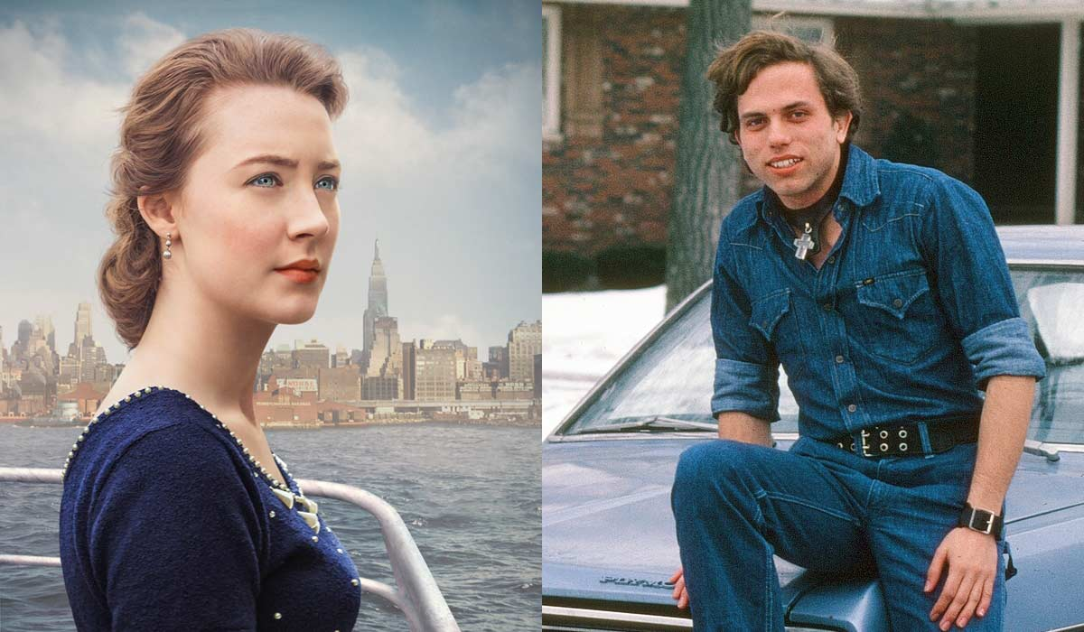 """Saoirse Ronan in """"Brooklyn"""" and Claes in college"""